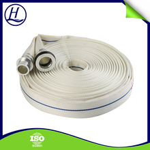 High Tenacity Durable White Color 65mm PVC Lining Fire Hydrant Hose