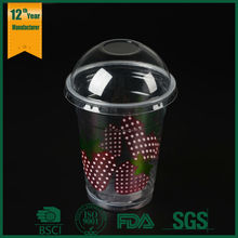 disposable plastic cups lid and straw