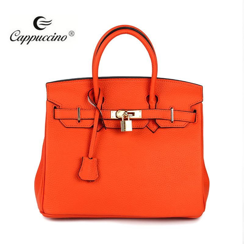 2017 designer brand names fashion genuine leather women lady hand bag
