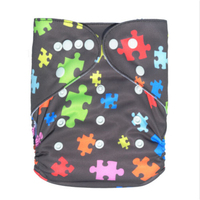 yiwu Soft newborn baby cloth diaper with flower