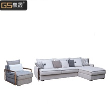 Goose neck velvet filling fabric sofa living room <strong>furniture</strong>
