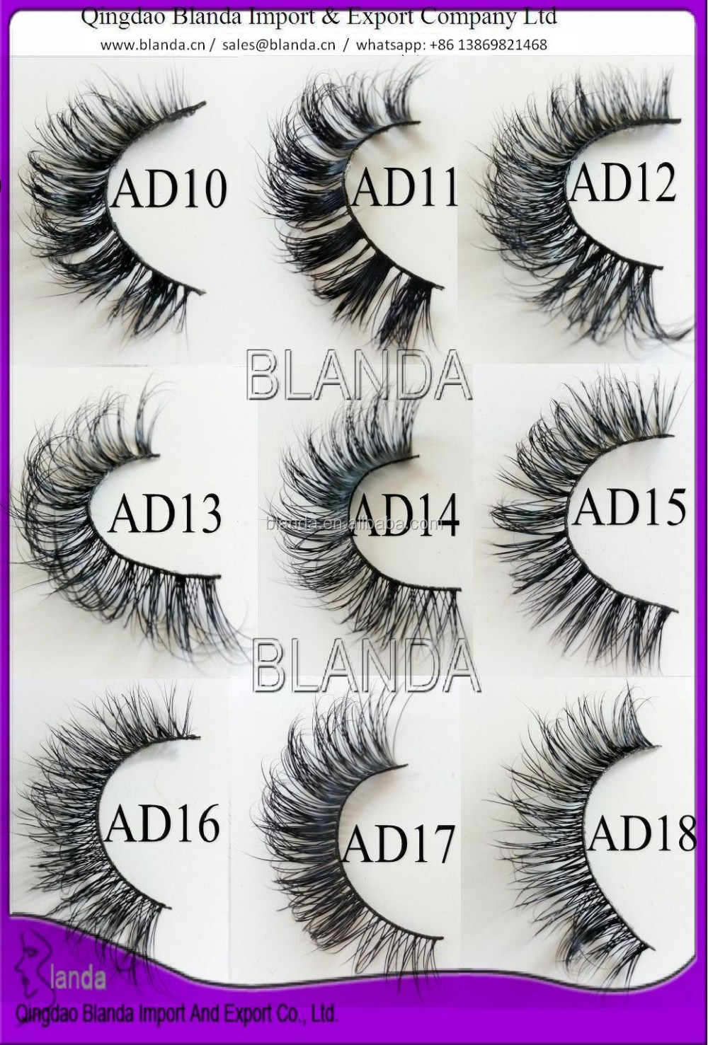 2018 new styles private label 3d silk lash; synthetic eyelashes, 3D mink lashes