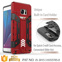 Bumper Kickstand Card Holder Case Import