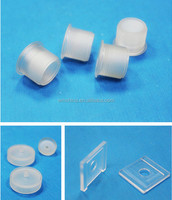 High standard precision Pa66 white plastic product/parts