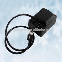 Universal Grill Electric Replacement Rotisserie Motor 220 volt 4 Watt On/Off Switch, Black
