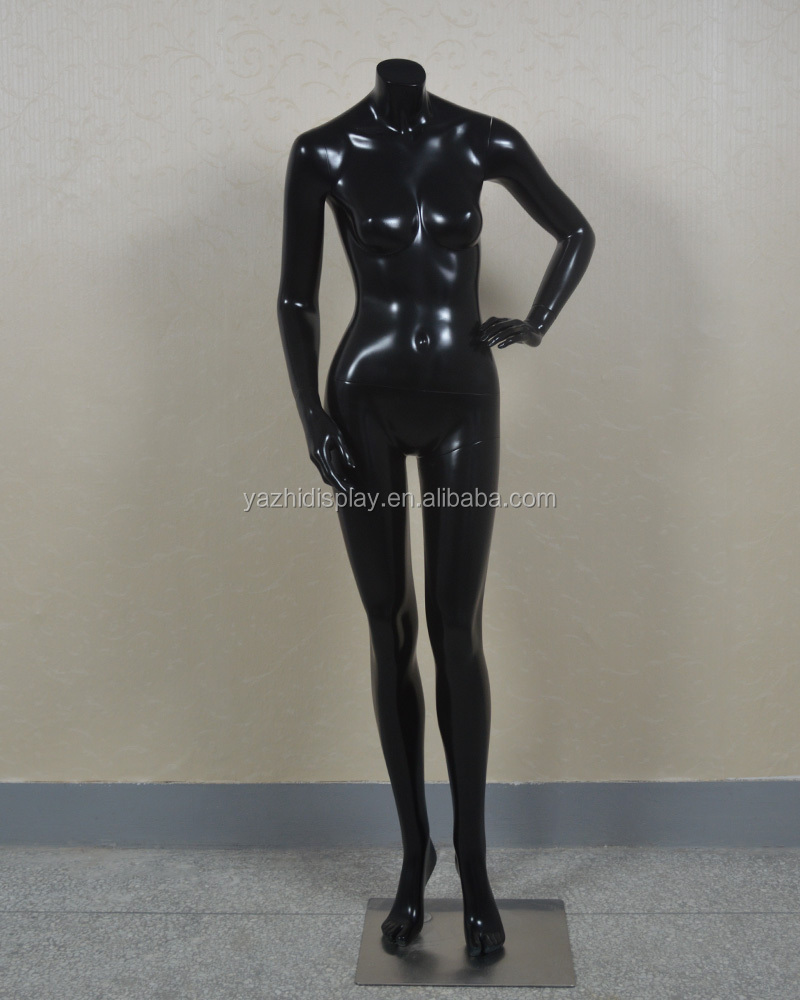 glossy headless full body woman female models/mannequin