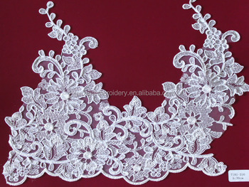 2014 cheap design trim lace for bridal