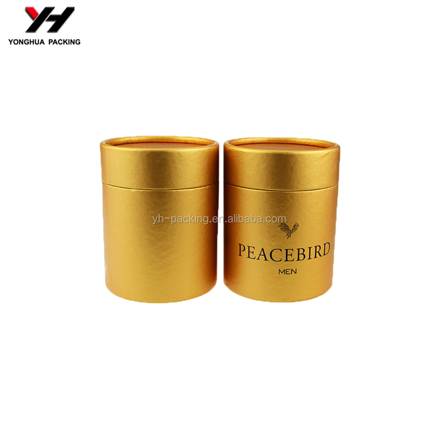China factory vogue luxury hand made luxury round box for perfume fragrance paper box