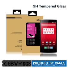 High quality factory price tempered glass screen protector for Oneplus one