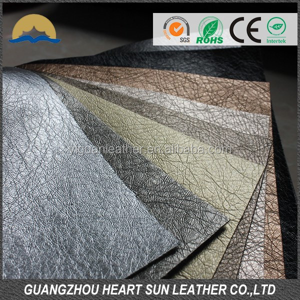 supply pu shoe lining leather in roll, pigskin lining leather Cabreta lining(pu cuero sinteticos para zapatos)