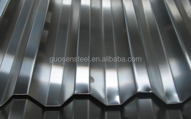 Construction building zinc roof galvanized steel corrugated sheet/ corrugated iron sheet
