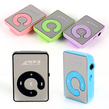 Fashionable No Screen Mini Clip Motorcycle Digital MP3 Player Manual USB MP3 Player