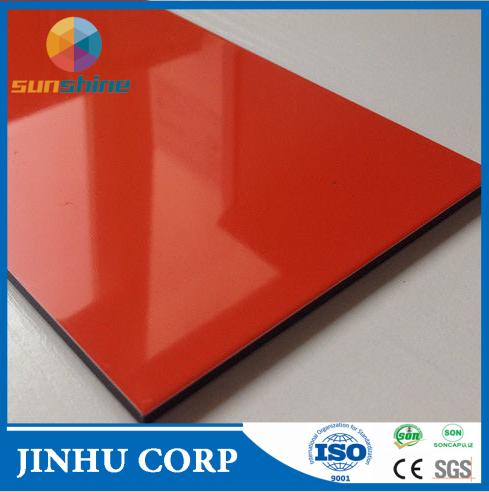 CE Certificate Colorful Interior/exterior Wall Decorative Colorful Acp A2/b1 Firproof Pe/pvdf Aluminum composite sheet