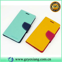 Colorful wallet case leather cover for sony xperia c c2305 s39h