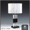 New Designs Indoor Crystal Antique Table Lamp, Decorative Bedside Candle Light