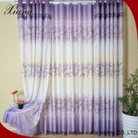 White window drapes fabric curtain