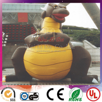 attractive cute giant customized inflatable dragon advertising balloon for sale