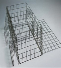 Square Hole Shape and Galvanized Iron Wire/Heavy Galvanized Material Square Hole Shape Welded Gabion Basket