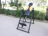 black painted Inversion Table ab exercise table body training equipment home use gym fitness equipment Inversion Table