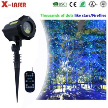 Xlaser Deluex GB Garden Decorating Laser Light Outdoor Laser Projector For Christmas decoration
