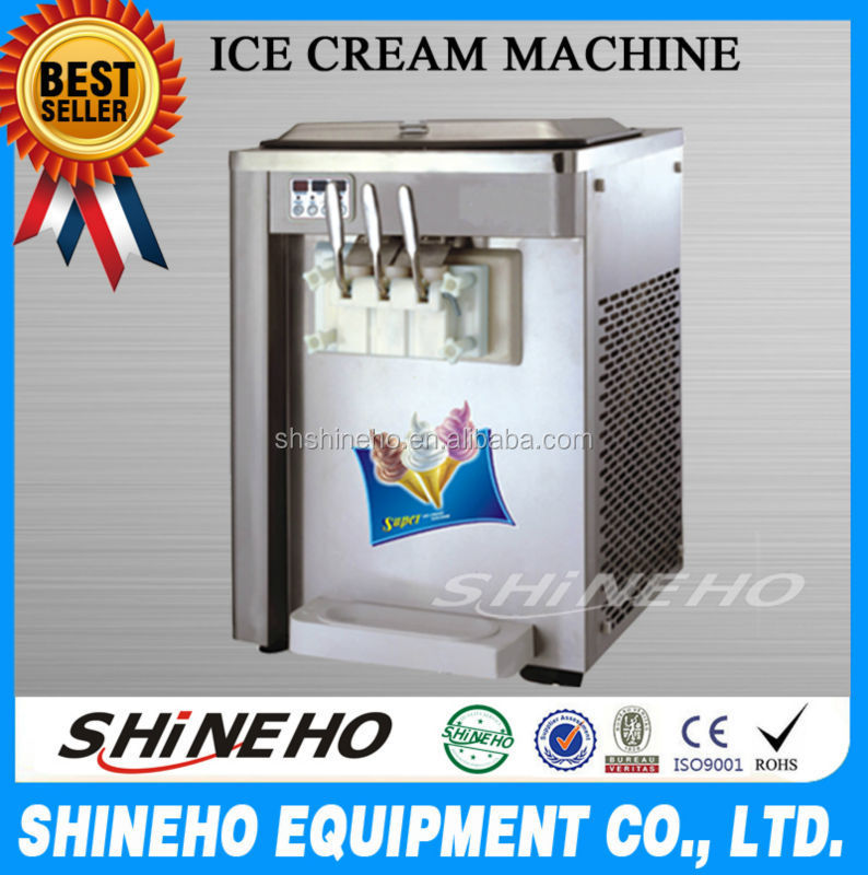 S014 ice cream vending/space ice cream machines/soft serve ice cream van
