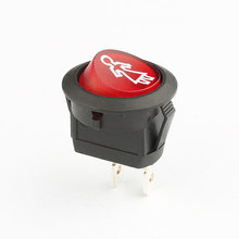 6a 12v 250vac rocker switch for desk lamp and child car