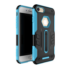 2017 Mobile Phone Hybrid Armor Rugged Back Case For iPhone 7 With Folding Kickstand Function