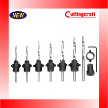 7Pcs Countersink Drill Bit Set For Woodworking