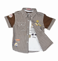 kids baby clothes /fashion shirts for boys in children wear 2016