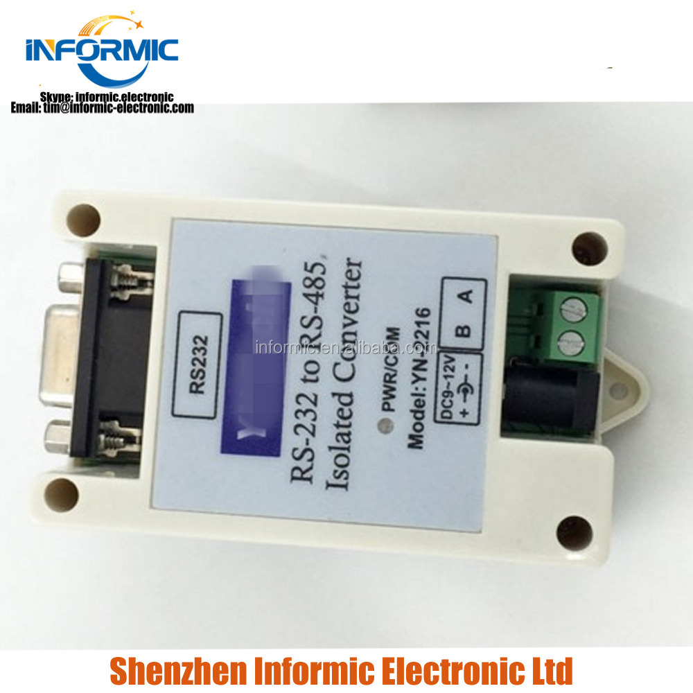 industrial class active isolation RS232 serial port to RS485 converter 232 serial port to 485 UT2216