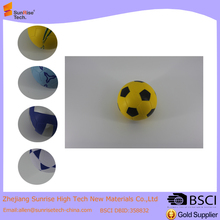 Inflatable promotional anti stress pu toy ball, soft pu exercise ball manufacturer