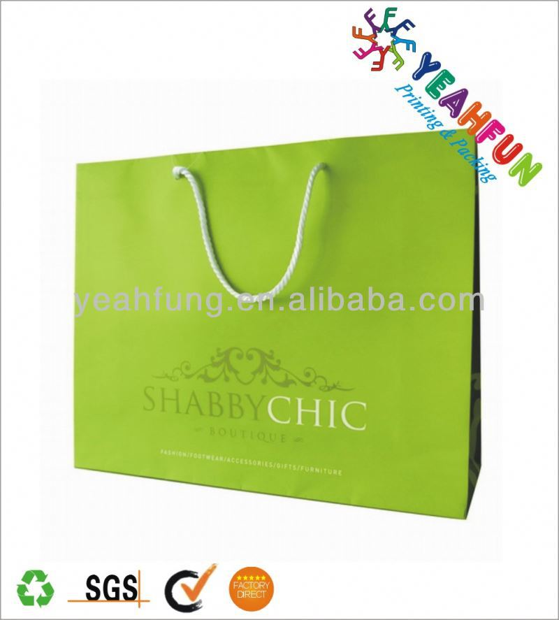 Lead free paper shopping bag changsha jinding