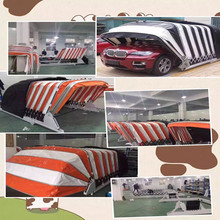 luxurious solar control folding canvas car garage with CE
