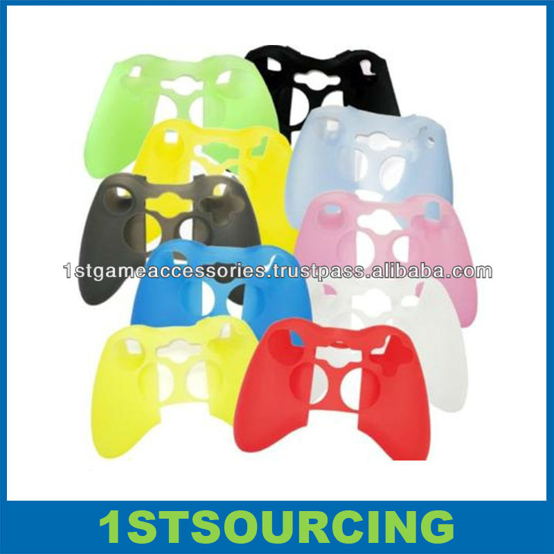 Silicone Skin Case For xbox360,For xbox360 Game Cover
