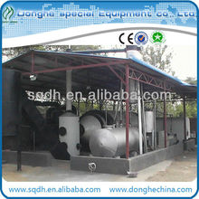 fully automatic waste tyre/rubber pyrolysis equipment with 15-20T/D capacity