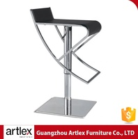 China Supplier High Quality Bar Hardware Metal Bases Footrest Antique Industrial Swivel Bar Stool