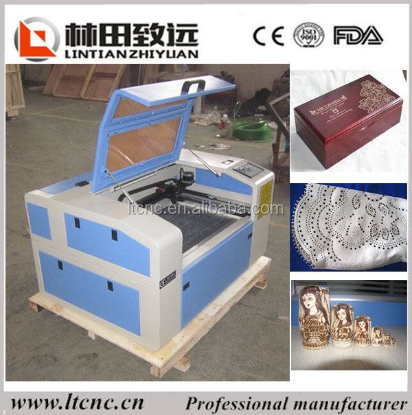LT-4030 with clear cutting edge, Laser Cutting Machine on wood