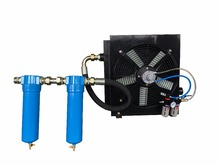 Plate Fin Aftercooler Oil Cooler For Sand Blaster