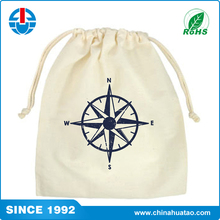 Fugang Taobao Wholesale Eco Friendly Products Cotton Drawstring Packaging Bag