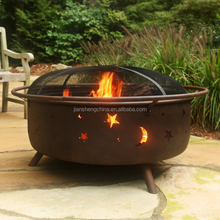 Outdoor Large Wood Burning Fire Pit