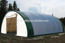 Heavy duty equipment storage dome warehouse truck trailer tent