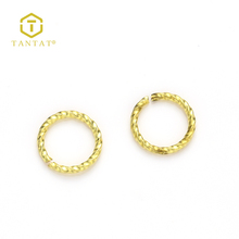 Factory Wholesale 10MM Gold Filled Open Jump Rings For Jewelry Making
