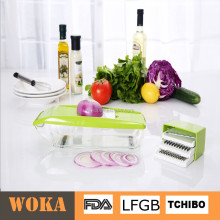 box grater mandoline slicer vegetable cutter multi blade box dicer and slicer with food container