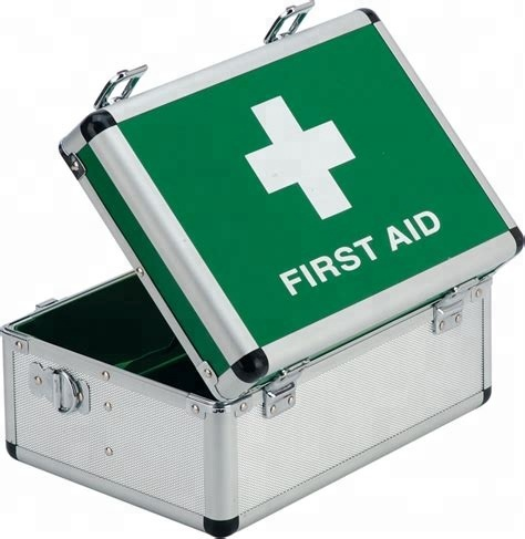 Hot! Household aluminum first aid case