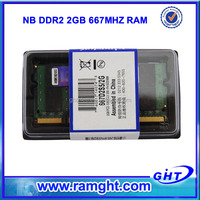 Stock sodimm ddr2 667mhz 2gb laptop memory