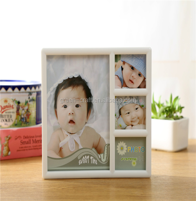 combination baby picture plastic photo frame for baby