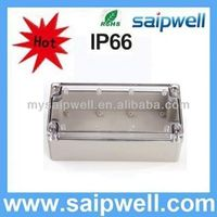 2013 high quality IP66 plastic battery enclosure ,abs waterproof box