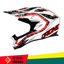 Dirt Bike Full Face ECE Standard Funny Motorcycle Helmets for Sale