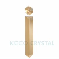 Hanging Glass Spear Prism, keco crystal is work on all kinds of Chandelier Crystals, and produce Customized chain