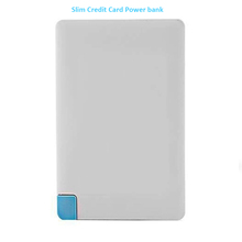 Shenzhen Mobile Power Supply,Super Slim Credit Card Power Bank 2200mah